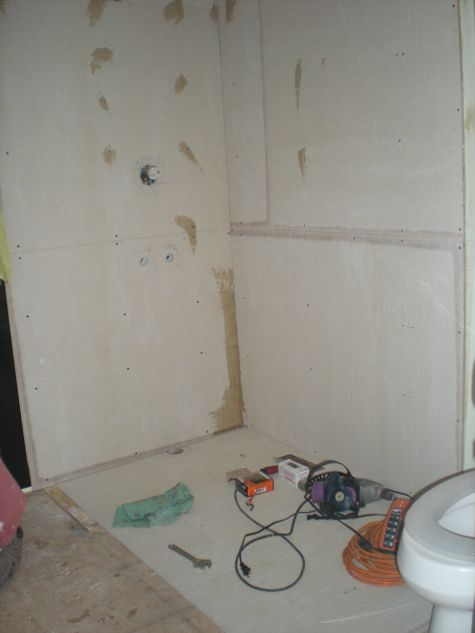 Bathroom Makeovers With Wainscoting diy: my thrifty bathroom makeover - life unstyled