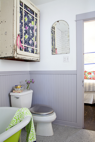 Curtains Ideas clawfoot tub curtain : DIY: My Thrifty Bathroom Makeover - Life Unstyled