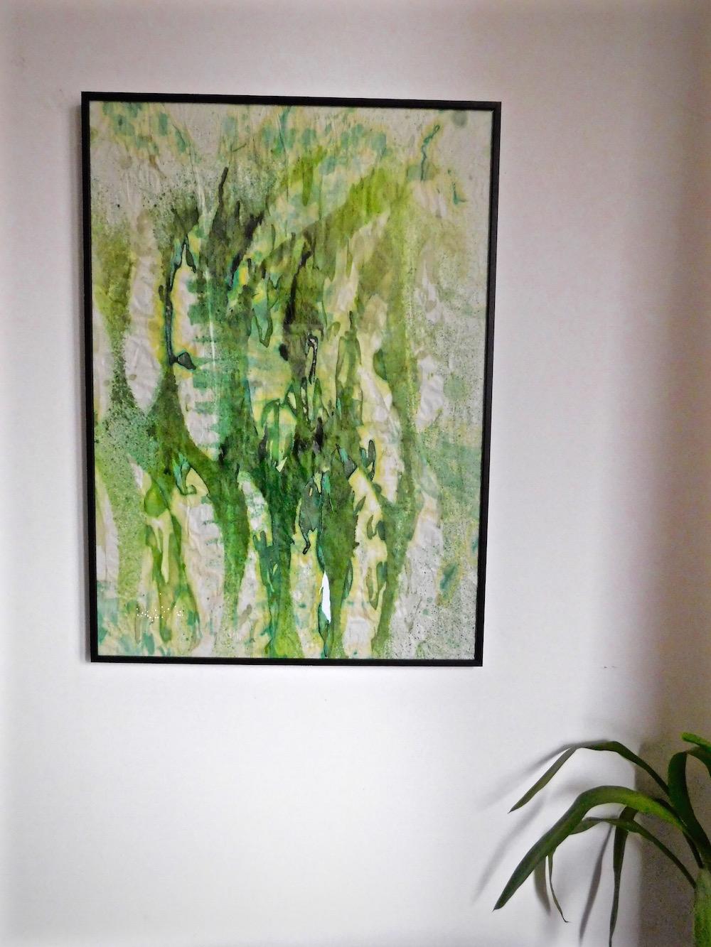 Emily Henson diy art close-up