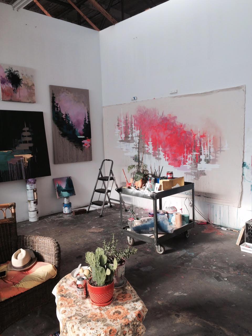 Kim West Studio 5