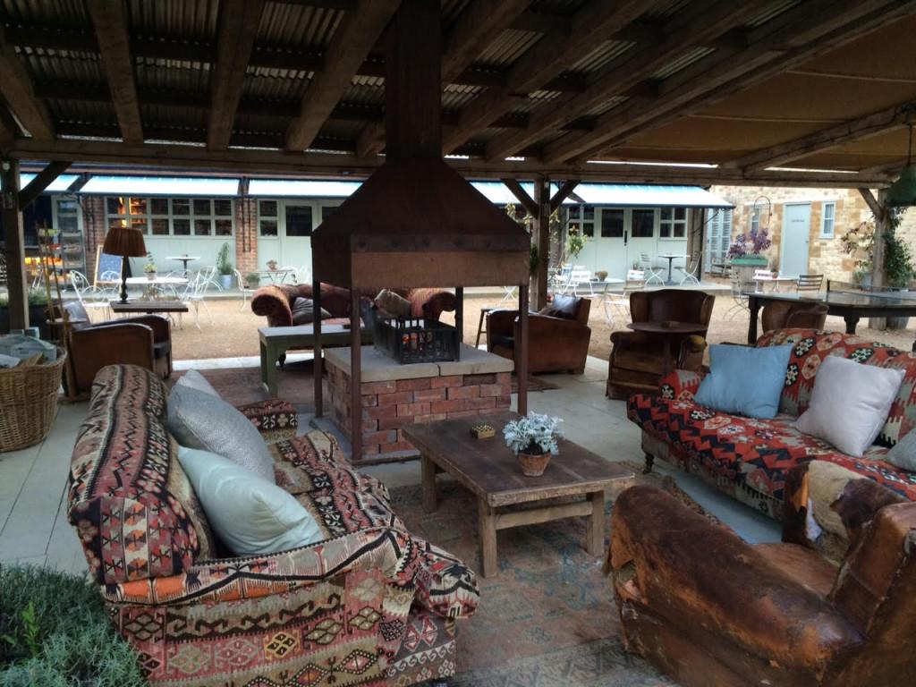 Soho Farmhouse outdoor room