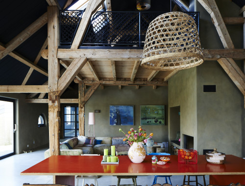 Emily Henson Modern Rustic Dutch barn