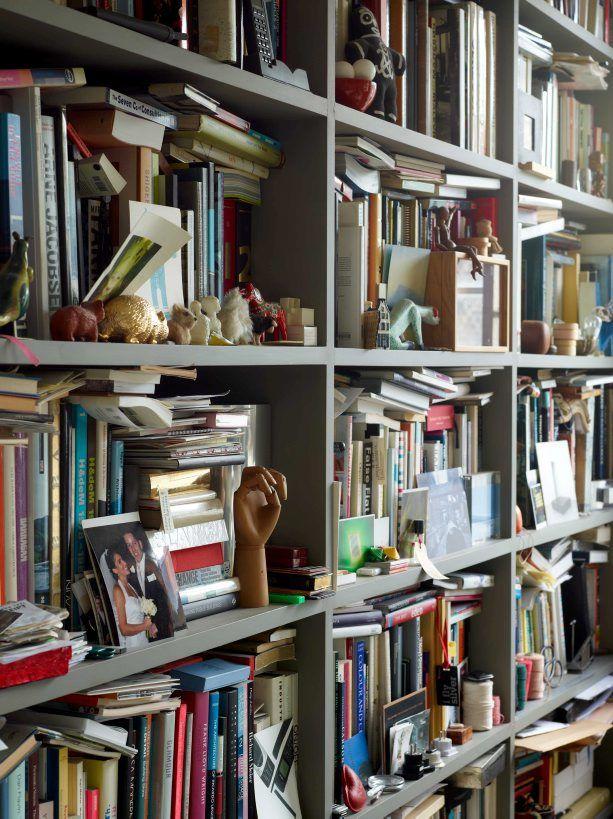 Ilse Crawford bookshelves via Life Unstyled