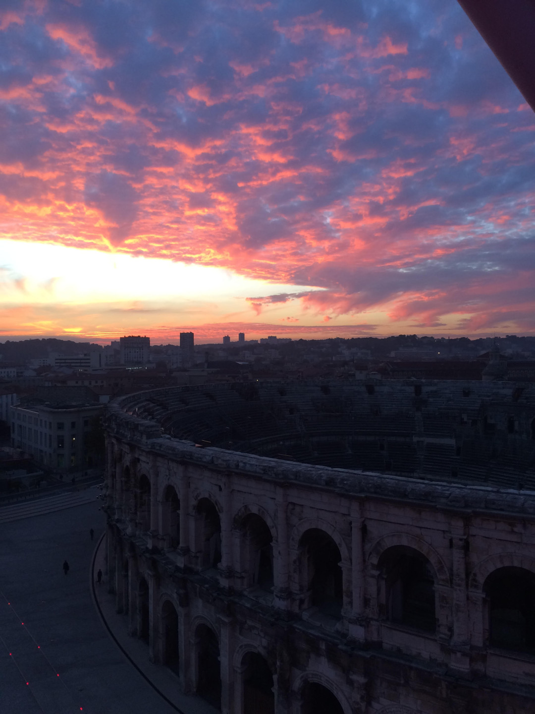 NImes sunset on Life Unstyled