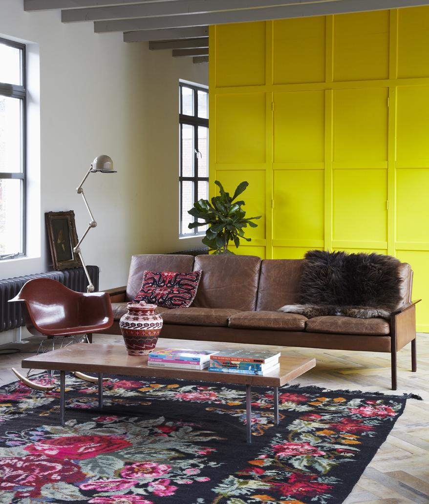 Emily Henson Bohemian Modern yellow wall