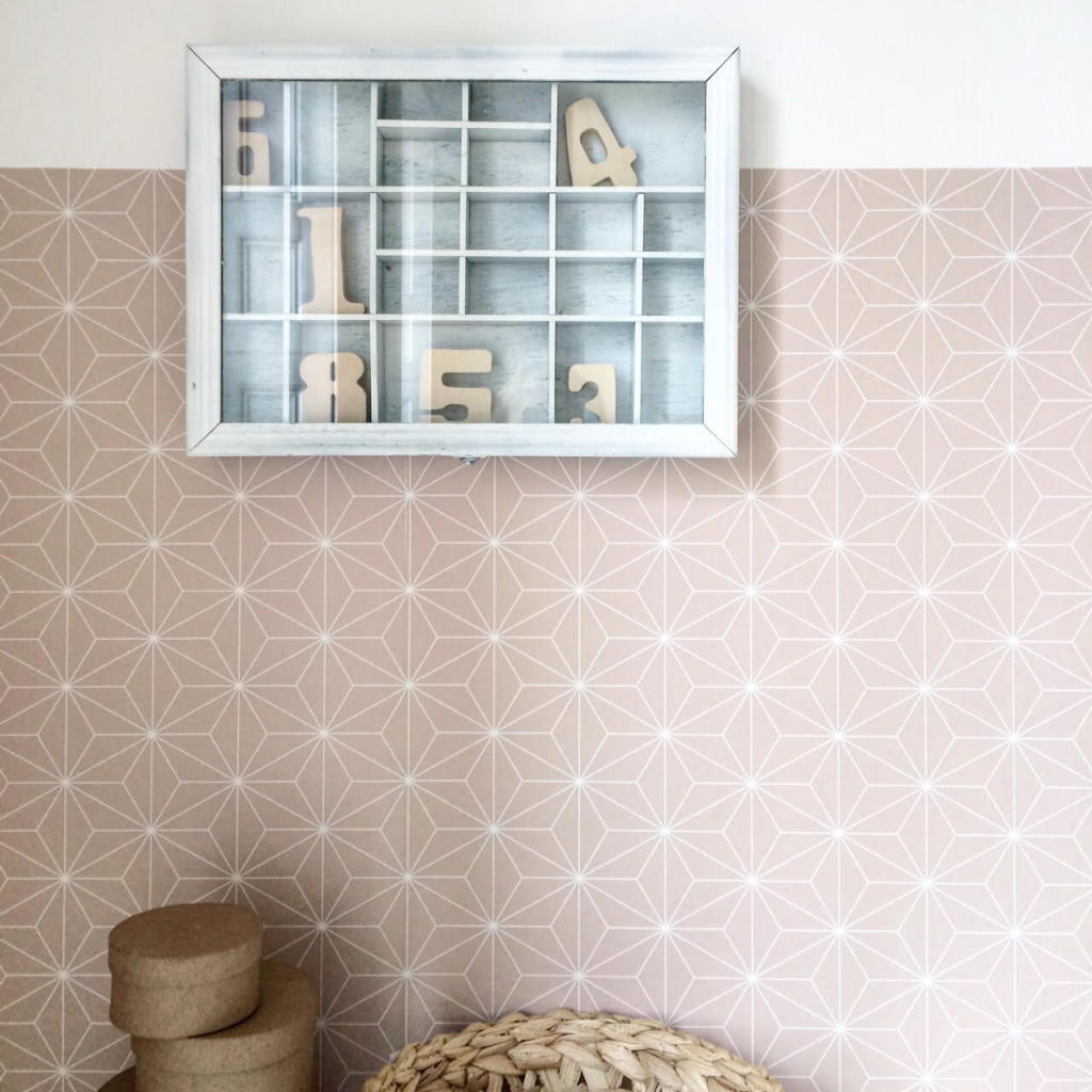 Life Unstyled homeware shoot Ikea wallpaper
