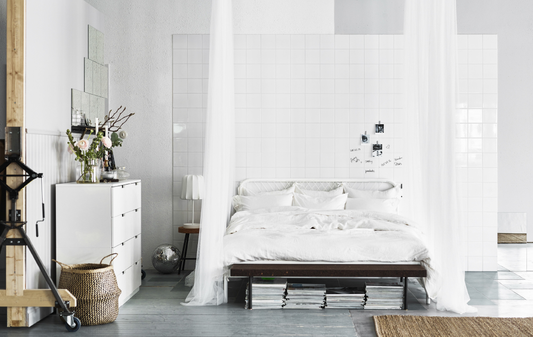 Ikea white bedroom on Life Unstyled