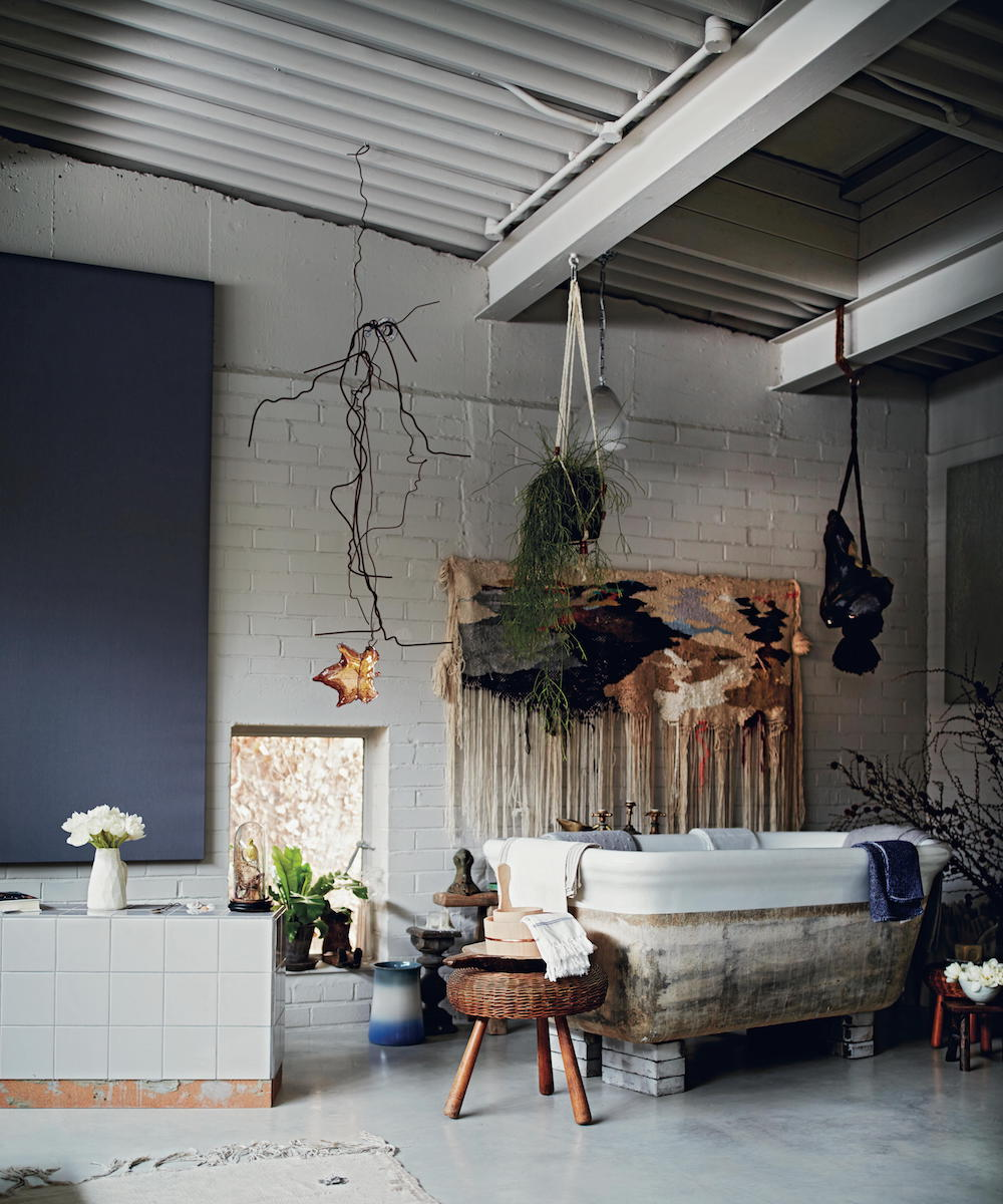 Islington loft bathroom in Life Unstyled book by Emily Henson