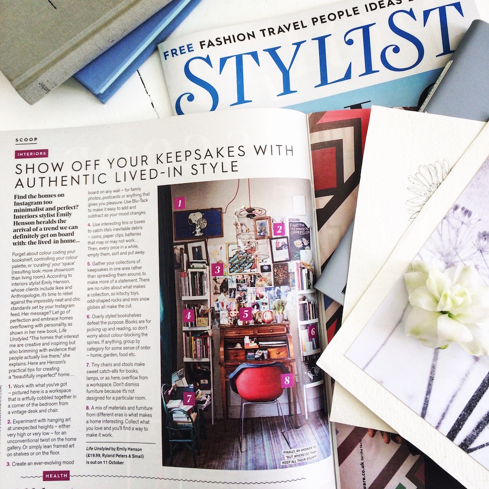 Life Unstyled in Stylist magazine